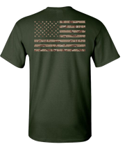Camo 3 Short Sleeve T-Shirt - Green