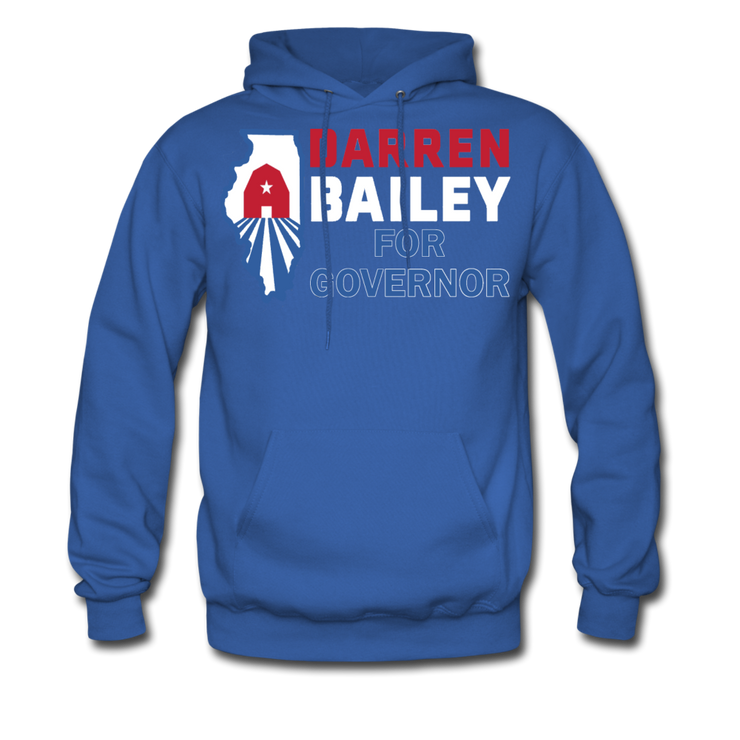 Bailey For Governor Hoodie - royal blue