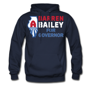Bailey For Governor Hoodie - navy