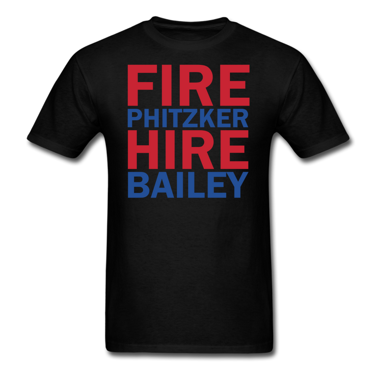 Fire Phitzker Hire Bailey T-Shirt - black