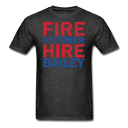 Fire Phitzker Hire Bailey T-Shirt - heather black