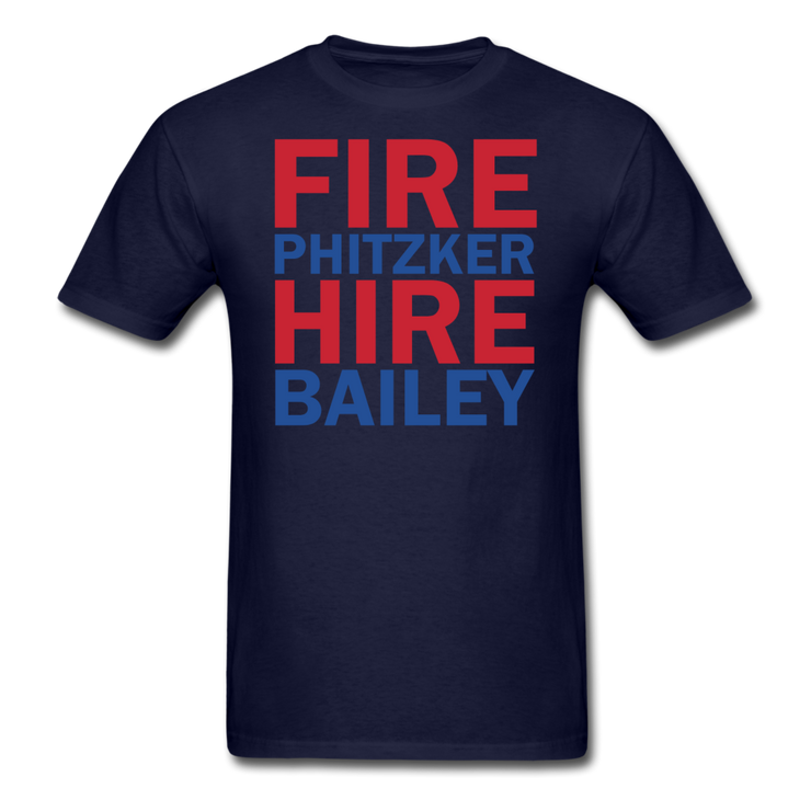 Fire Phitzker Hire Bailey T-Shirt - navy