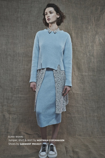 HOPE ST MAGAZINE Online (UK), June 2015, Deline jumper & Felice skirt