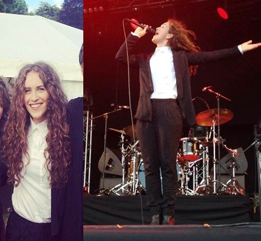 SPRING LONDON @rae_morris (UK), June 2015, Bellis blazer & Tina pants