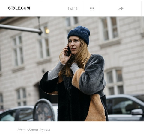 Style.com, January 2015, Audrée coat, Stephanie Gundelach