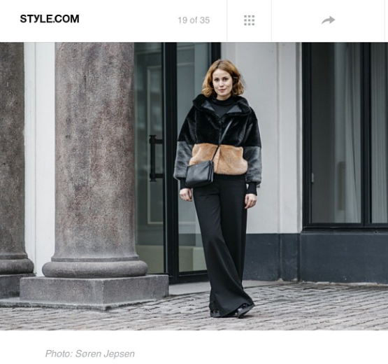 Style.com, January 2015, Rubie jacket, Cecilie Thorsmark
