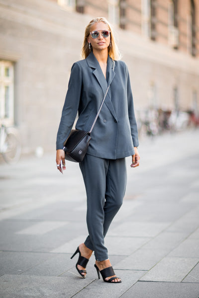 Emilielilja (DK), Copenhagen Fashion Week, August 2015, Photographer Victor Jones, Valina pants & Eliane blazer