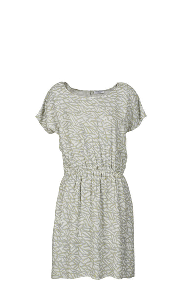 Annalise print dress mineral