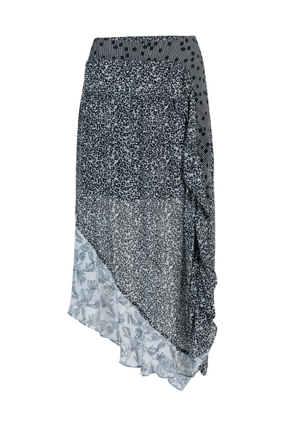Alicia Skirt Black Print