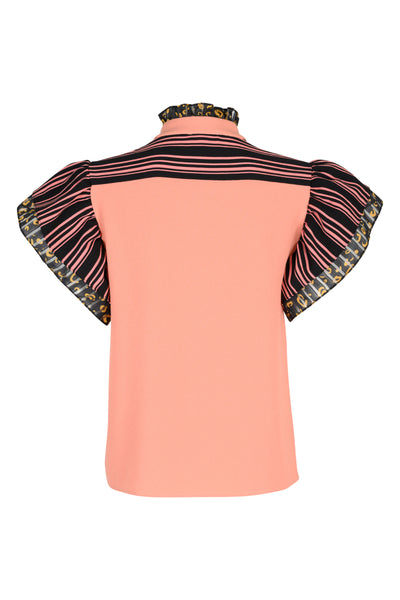 Ava golden hour patchwork top
