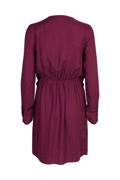 Caroline Dress Deep Orchid