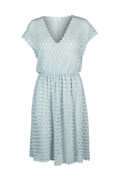 Celia lace dress ice blue