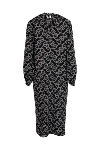 Celina Dress Black Print