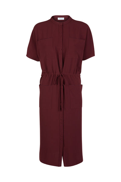 Celine Dress Port Wine