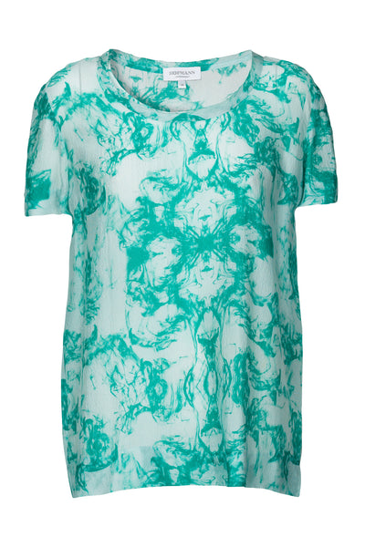 Cirella Silk Top Ivy Air Print