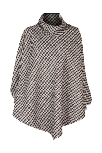 Clotilde Poncho Black