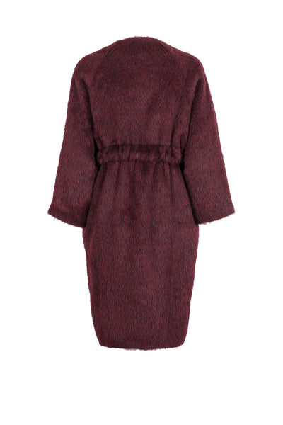 Corinne Long Coat Wine