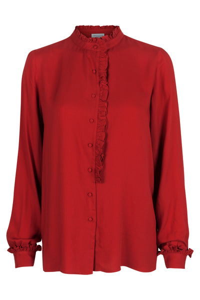 Cyrielle Shirt Autumn Red