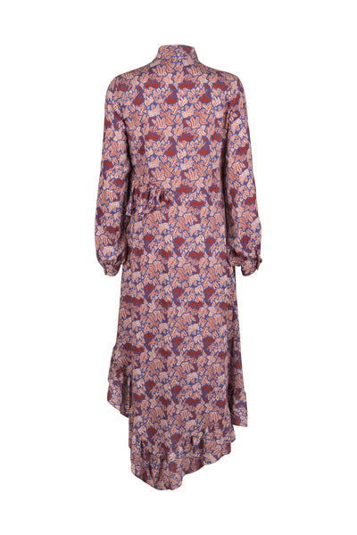 Celia Dress Mahogony Print