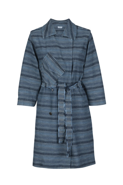 Dahlia coat denim blue