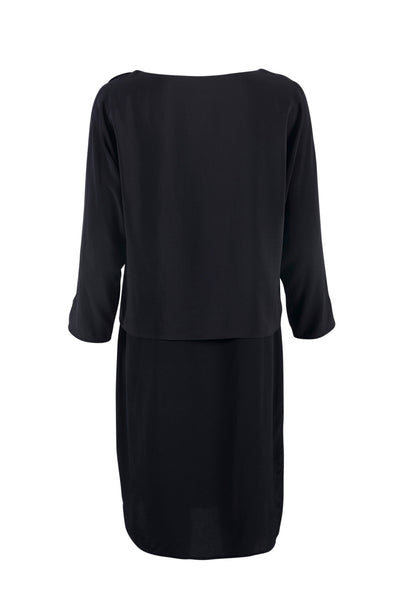 Darcelle silk dress black