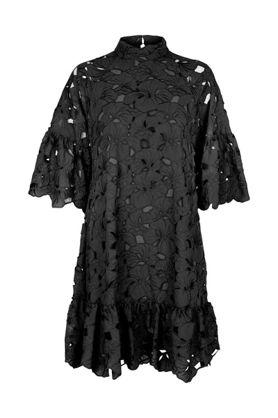 Darielle lace dress black