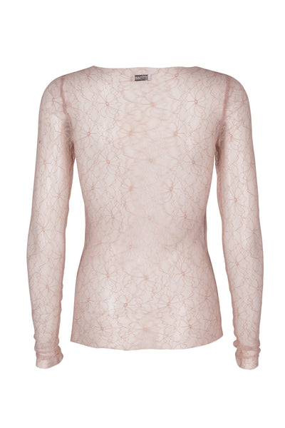 Desirella lace top rosedust