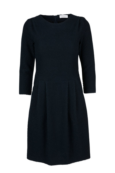 Diona wool dress midnight