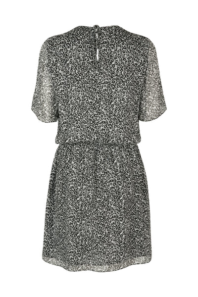 Greta dress Black Print