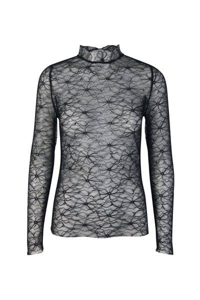 Desirelli lace top black