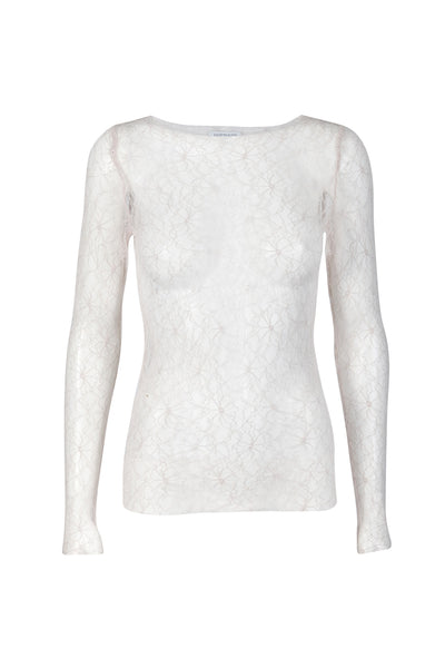 Desirella lace top oyster