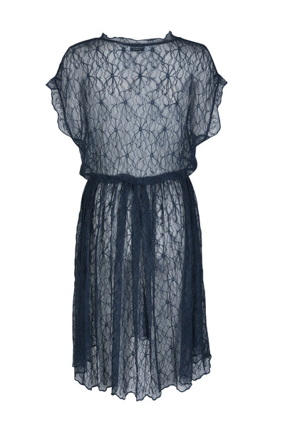 Audrey lace dress midnight