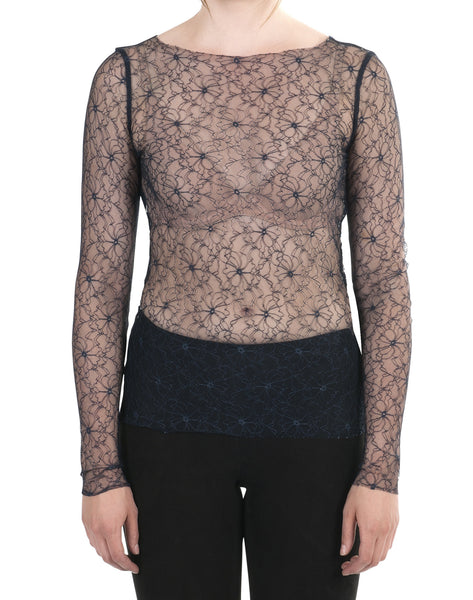 Desirella lace top midnight