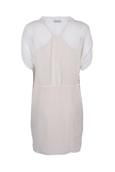 Eleonore silk-cotton dress