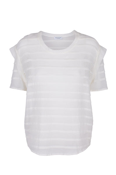 Erica silk-cotton t-shirt