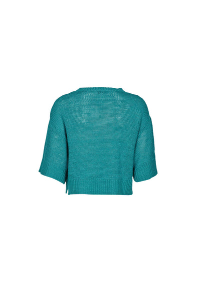 Febe knit top emerald