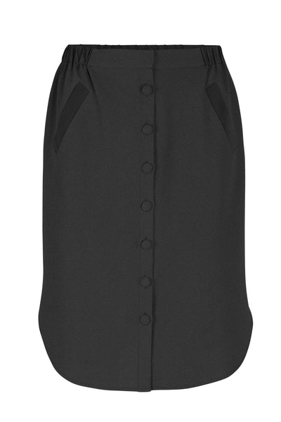 Gaia skirt black