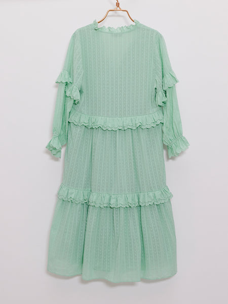 Jeanne Pure Mint Dress
