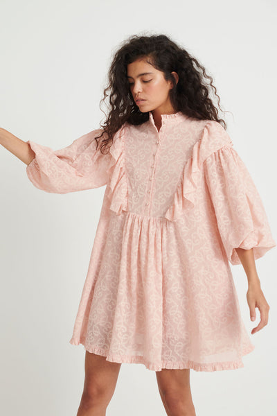 Elise Dress Rose dust