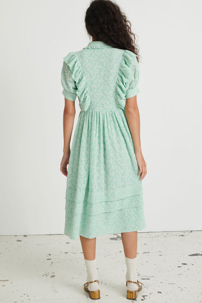 Belle Dress Pure mint