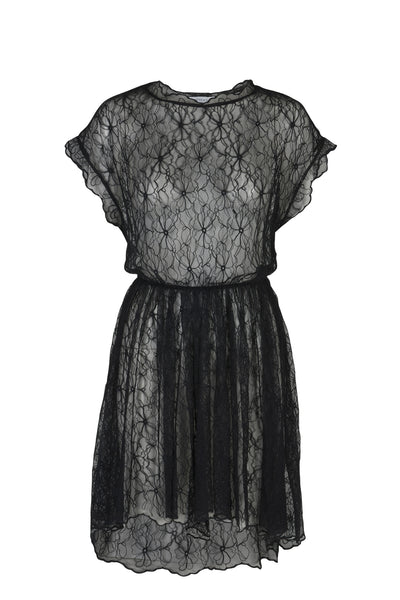 Audrey lace dress black