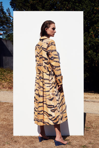 Christelle Coat Golden Hour Print