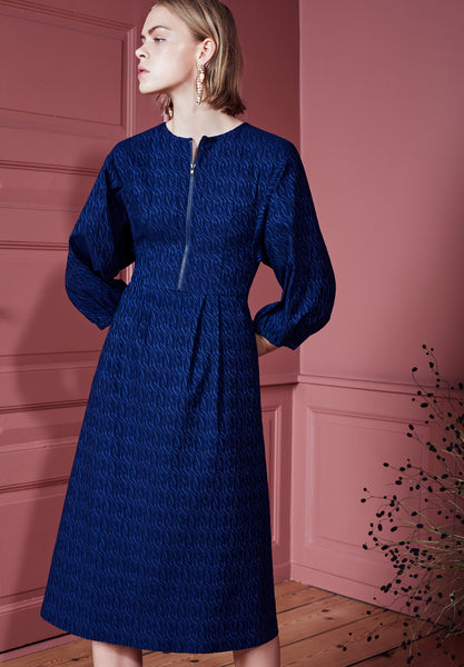 Beatrice Dress Electric Blue