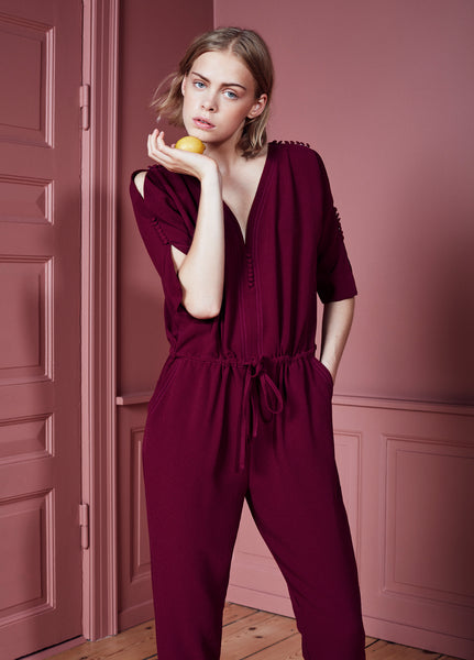 Ines Jumpsuit Wild Berry