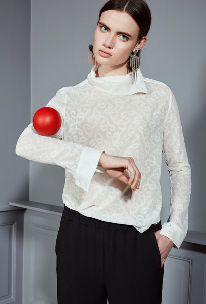 Tine blouse white
