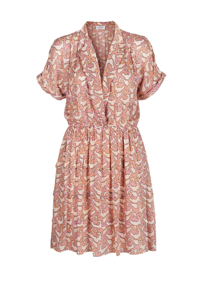Ina Dress Orchid ice Print