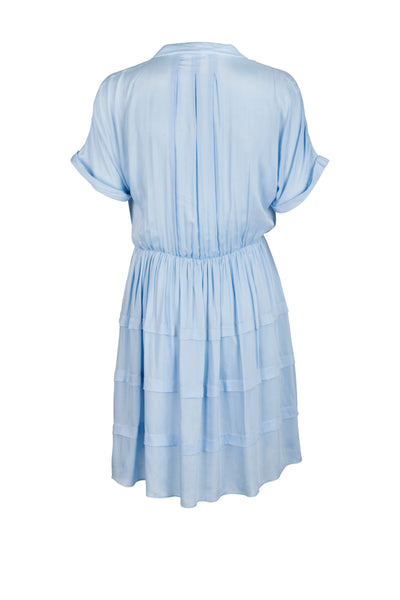 Ina Dress Pacific Blue