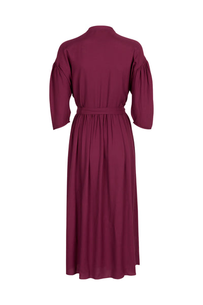 Isabelle Dress Deep Orchid