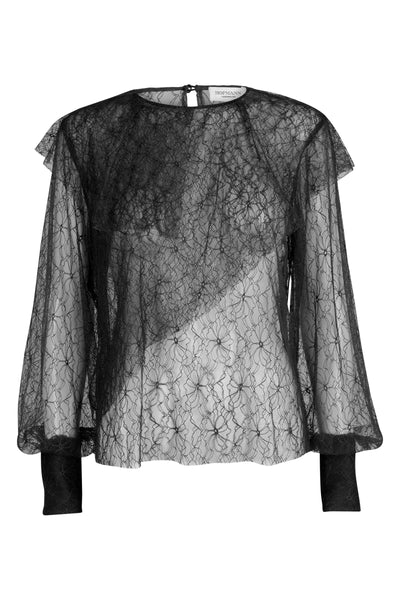 Joelle Lace Top Black