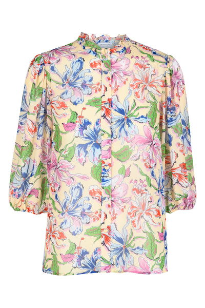 Jeanet Golden Haze Print Blouse